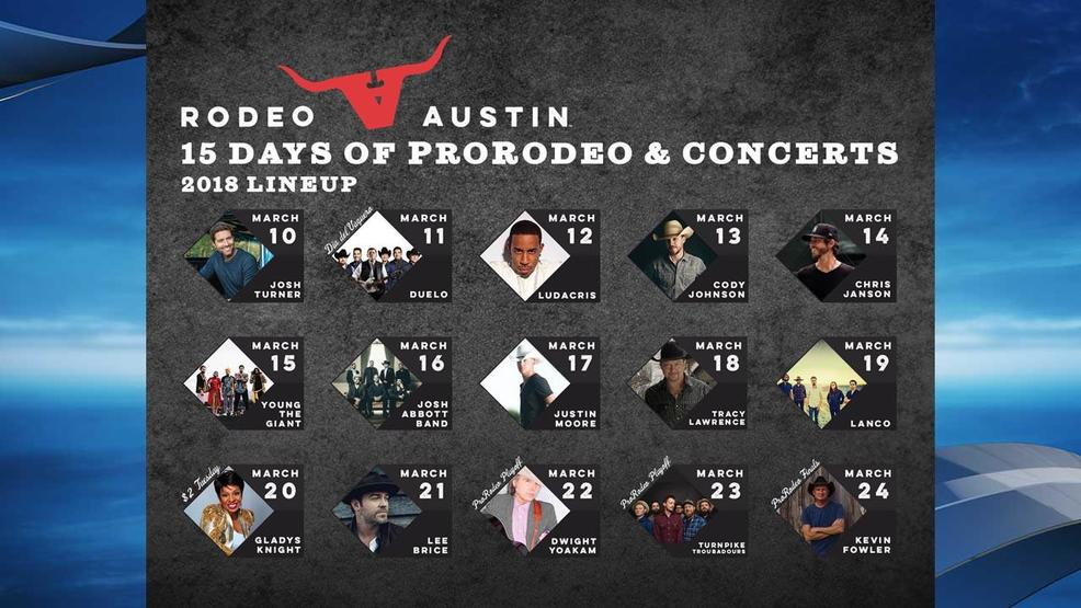 Rodeo Austin Releases 2018 Concert Lineup Keye
