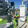 First non-tesla EV fast charging station in the Tri-Cities