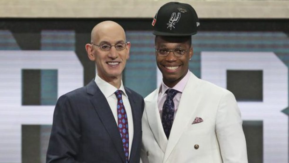 fdfa2d383 Lonnie Walker IV lands on GQ s best-dressed list at 2018 NBA Draft ...