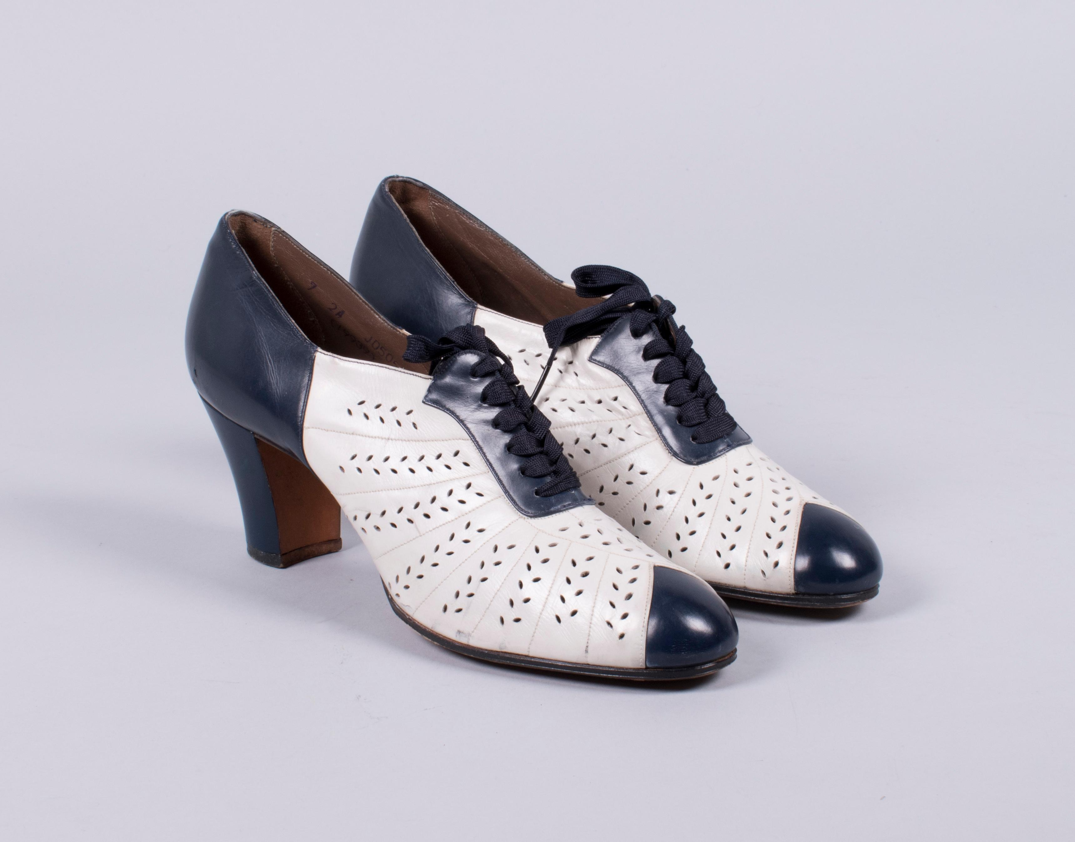 Two-tone oxford, 1930s. Loan courtesy of Nordstrom Archives.{ }