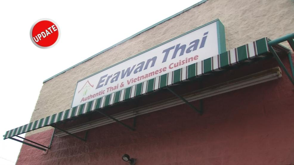 Once in trouble with the Health Department, Erawan Thai has cleaned up its act. (WSYX/WTTE)