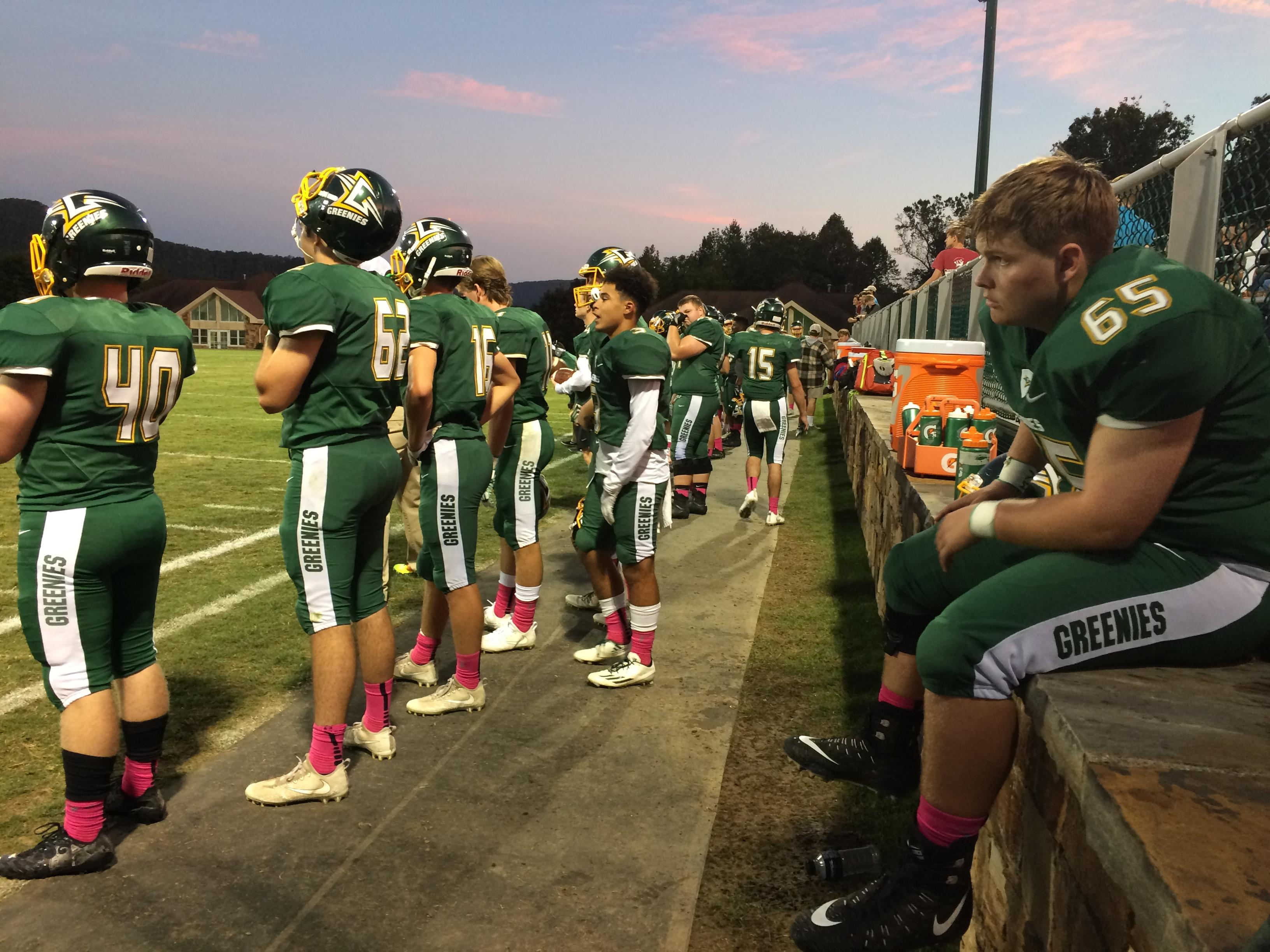 Rabun Gap vs Christ School, 10-06-2017 (Photo credit: WLOS Staff)
