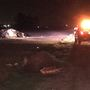 Rollover near McFarland leaves one man dead