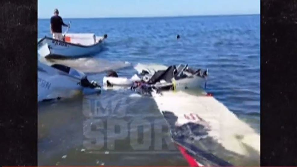 Caught On Camera Roy Halladay S Plane Crash Whp