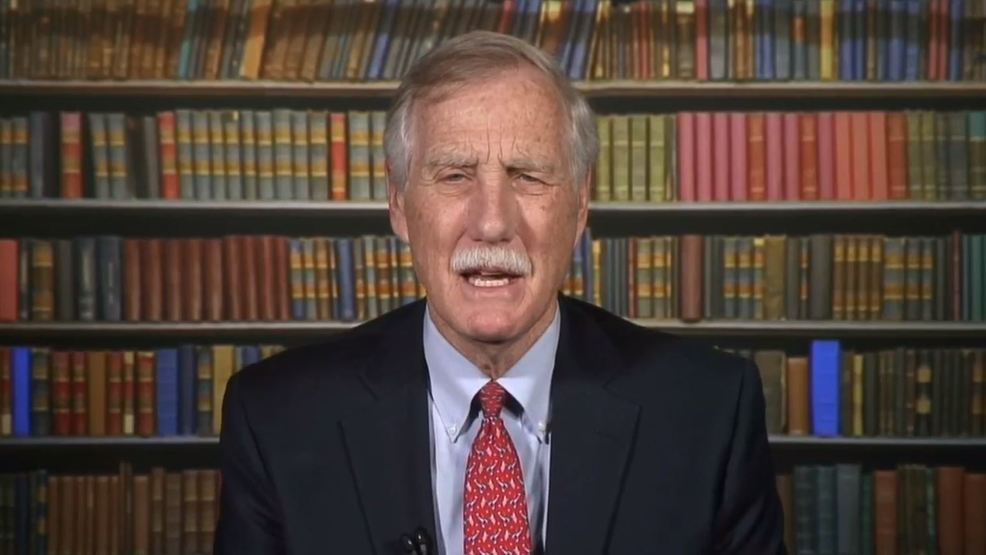 Sen. King: Mueller report shows 'reckless' conduct by President Trump