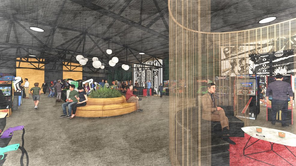 10,000 square foot arcade and bar coming to South Nashville