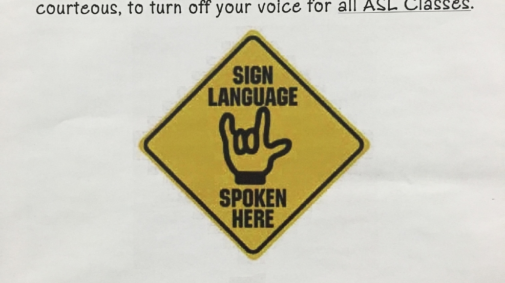 the importance of learning the american sign language Don't just sign communicate: a student's guide to mastering american sign language grammar [michelle jay] on amazoncom free shipping on qualifying offers are you making common signing errors make no mistake about it when venturing into the world of american sign language.