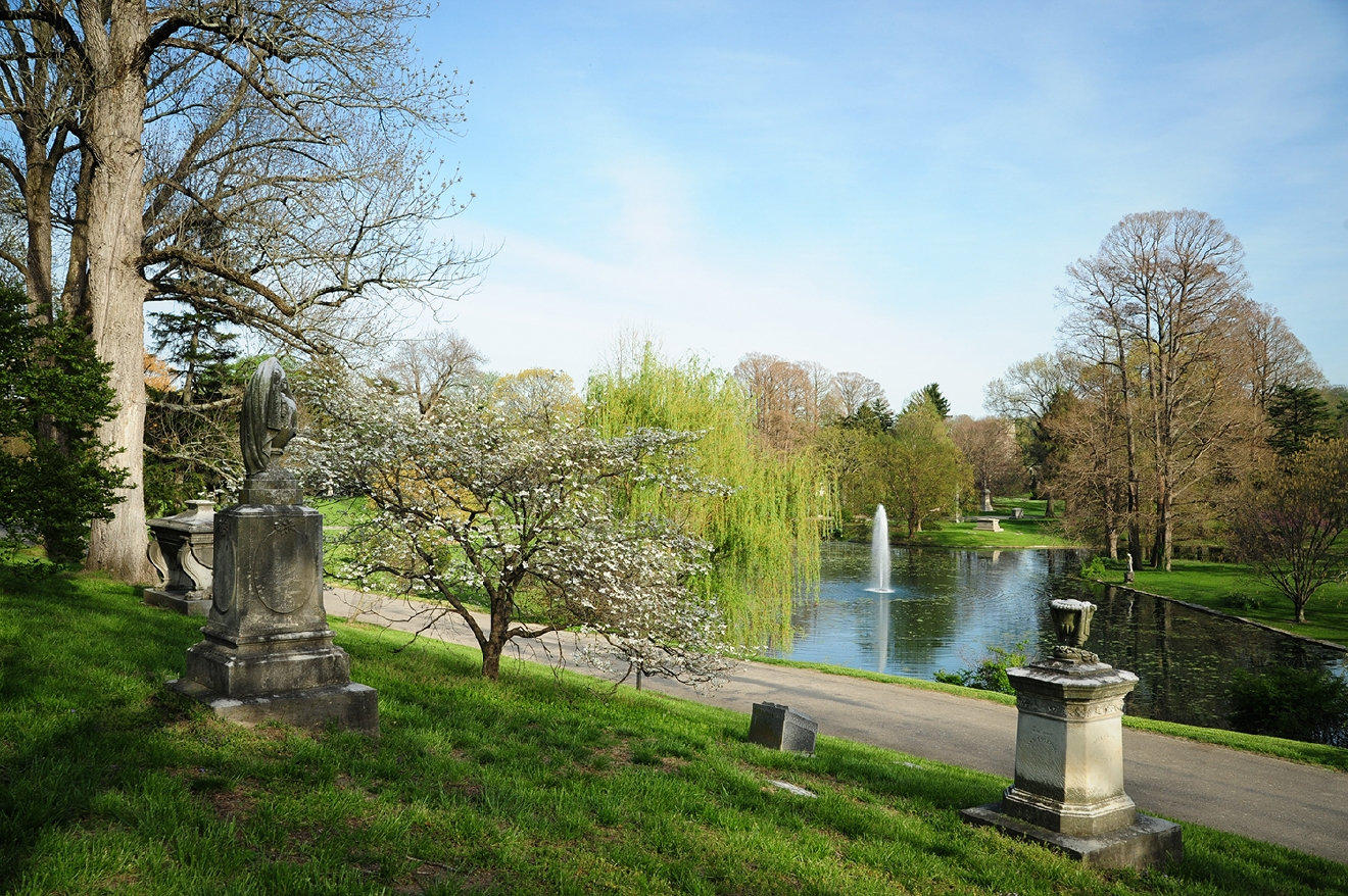 Chartered in 1845 by the Cincinnati Horticultural Society, Spring Grove Cemetery & Arboretum was envisioned as a place of consolation, commemoration, and education. / Spring Grove Cemetery & Arboretum is located at 4521 Spring Grove Avenue, Cincinnati OH 45232. // Image: Melissa Doss Sliney