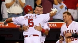 Trout, Pujols homer while Angels beat Reds 9-2