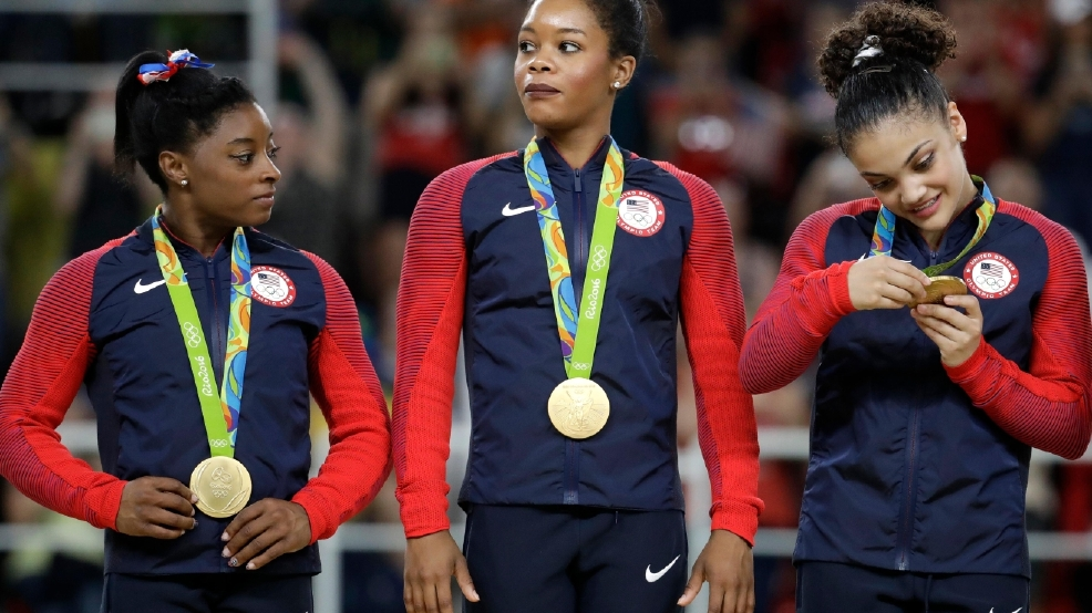 Gabby Douglas Is Getting Attacked On The Internet For This Comment About Aly Raisman