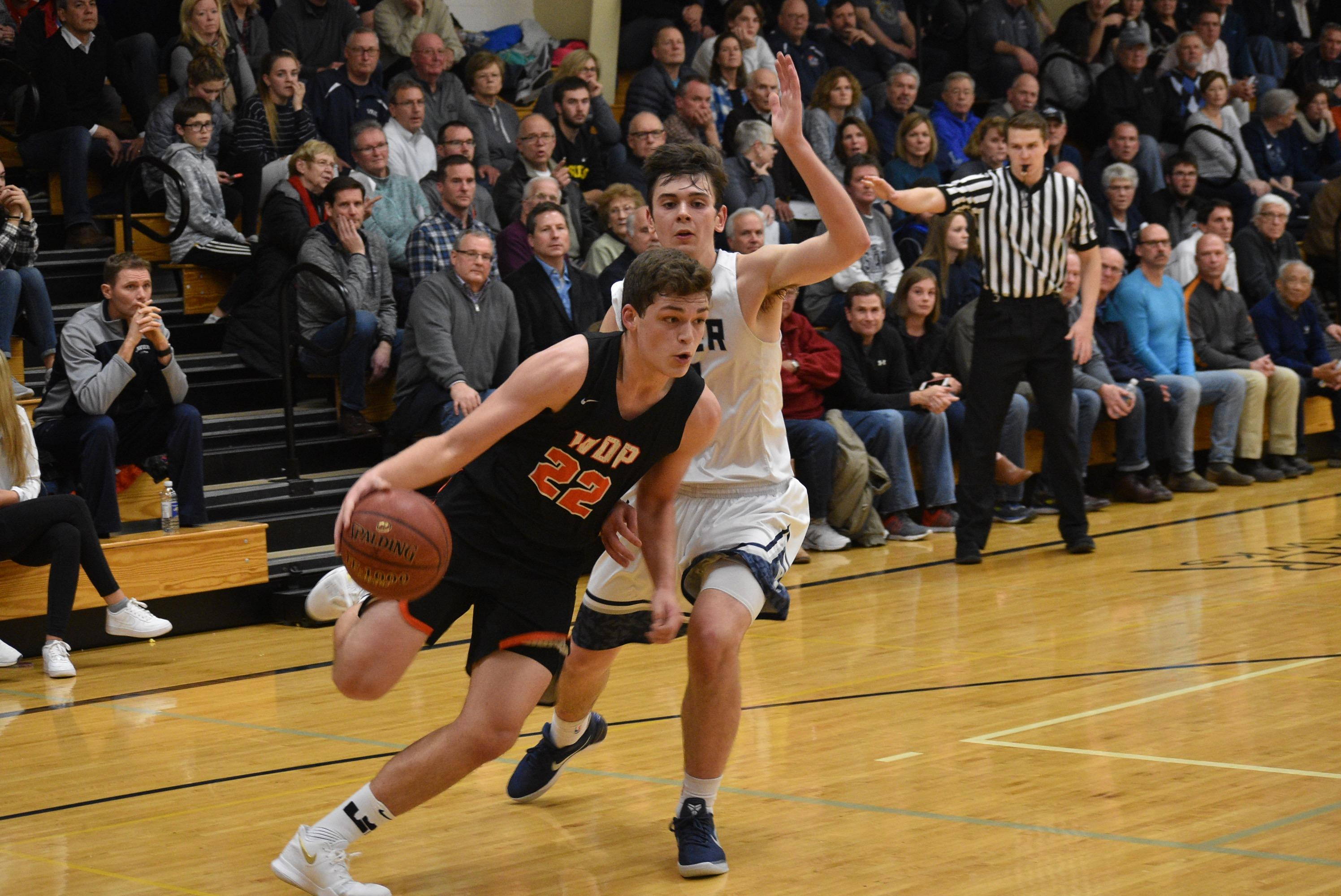 Xavier beat West De Pere, 92-67, in a Bay Conference boys basketball game Tuesday. (Doug Ritchay/WLUK)
