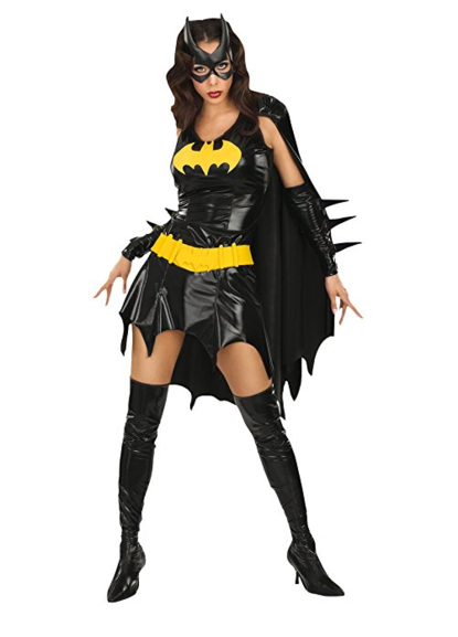 dc comics deluxe batgirl adult costume amazon prime