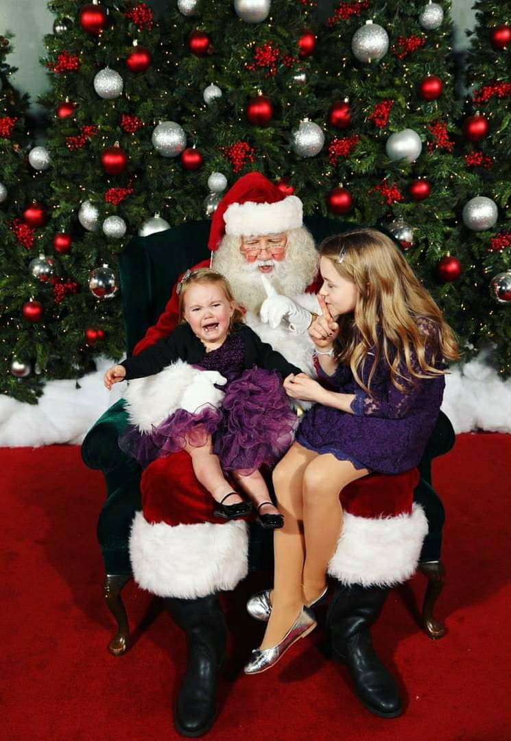 Ah, Santa Claus - the glorious bearded man in the big red suit who fulfills our kiddos holiday dreams and wishes.  Also doubling as, apparently, the scariest man alive. Grab a glass of eggnog, sit back and feast your eyes on these Santa pics gone wrong - or as I call them...realistic Santa pics. (Image: Andrea and Dean Needham)<p></p>
