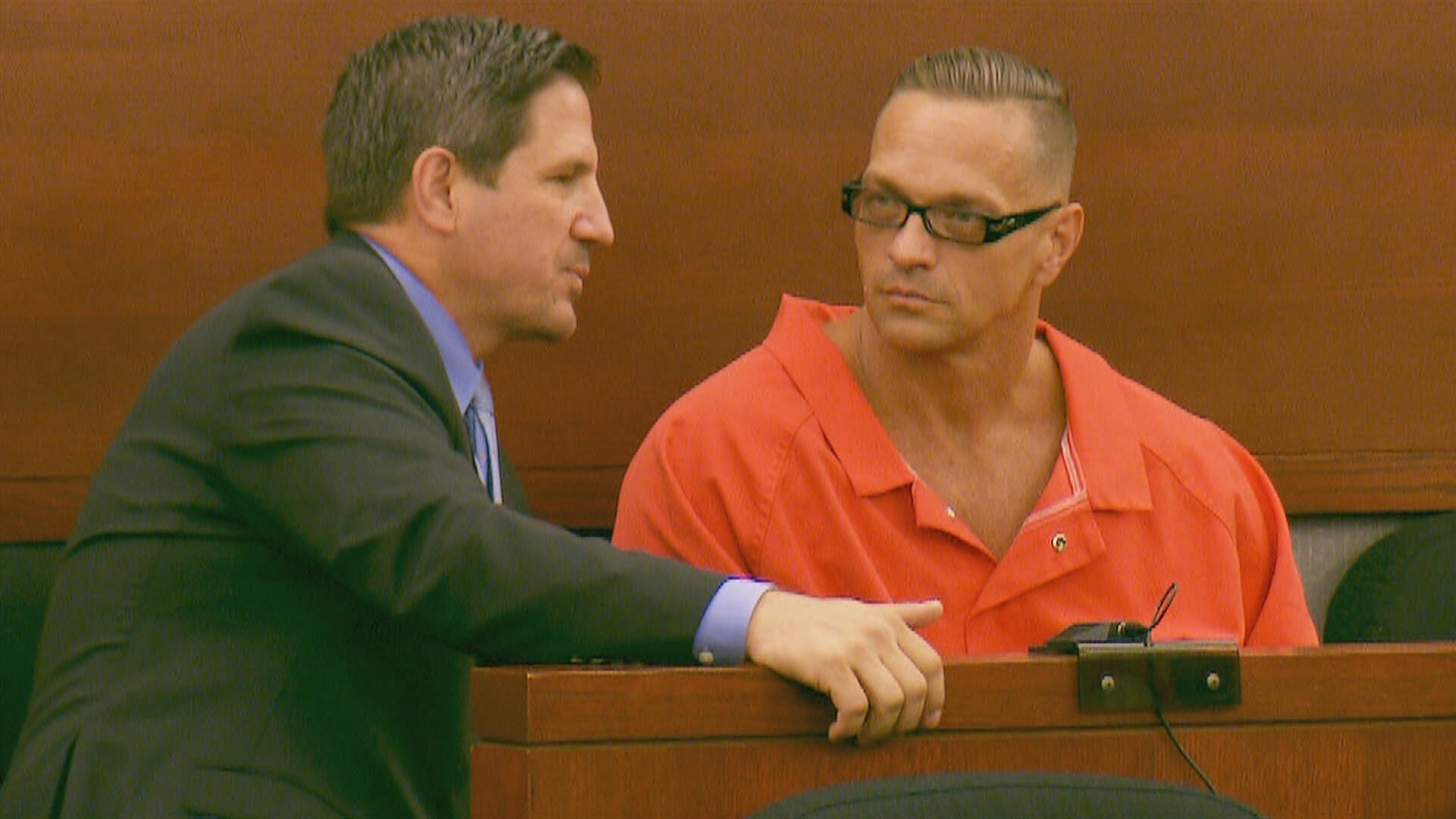 Scott Dozier appears in court Monday, September 11, 2017, at the Regional Justice Center in Las Vegas. (George Romero/KSNV)