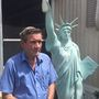 Mobile home park orders removal of veteran's replica Statue of Liberty