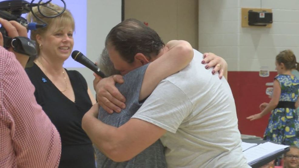Park Forest Elementary Throws Surprise Party For Retiring