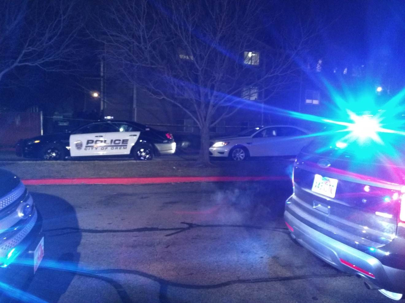Man shot in Orem with life threatening injury (Photo: Daniel Kovach / KUTV)