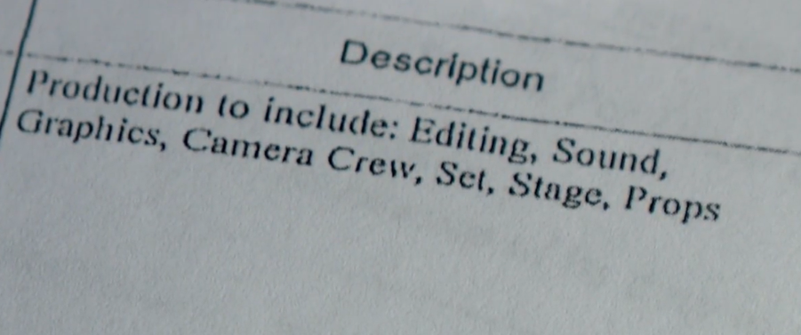 "In 2017, there was only one invoice included in the ""Teen Chef Pro"" budget records. It was for $83,000 and the description line said the money was simply for editing, photography, etc. (Photo: KUTV)"