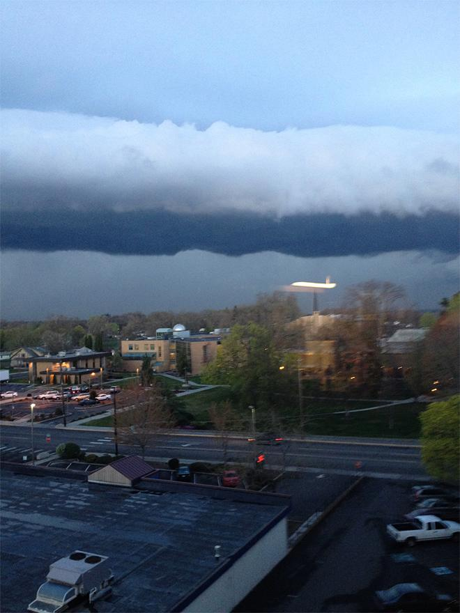 College Place Thunderstorm (Photo courtesy YouNews contributor: huntress7)