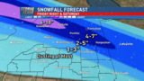 Heavy rain and heavy snow for central Illinois