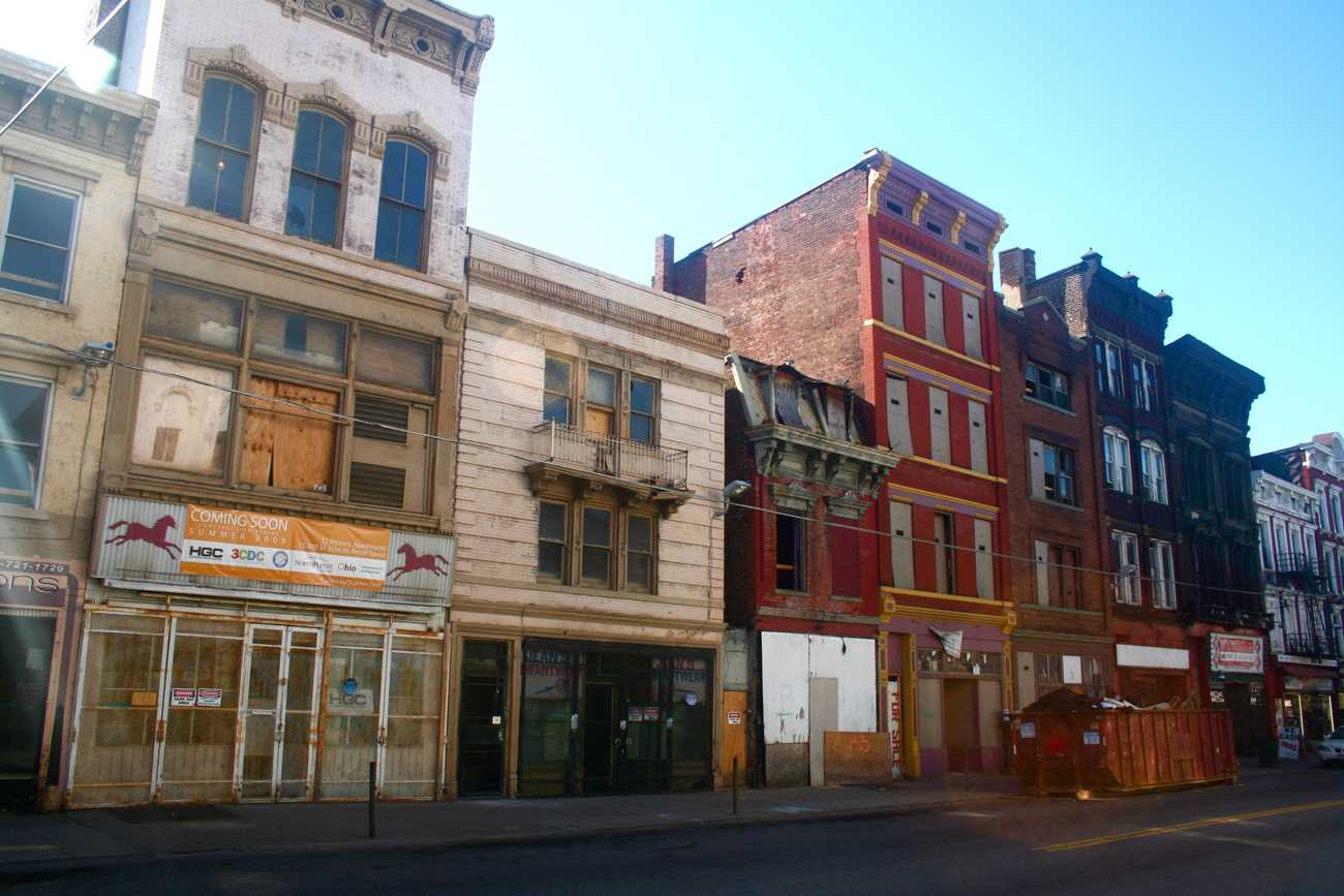 [BEFORE] LOCATION: Corner of 14th and Vine Streets (Over-the-Rhine) / IMAGE: Travis Estell