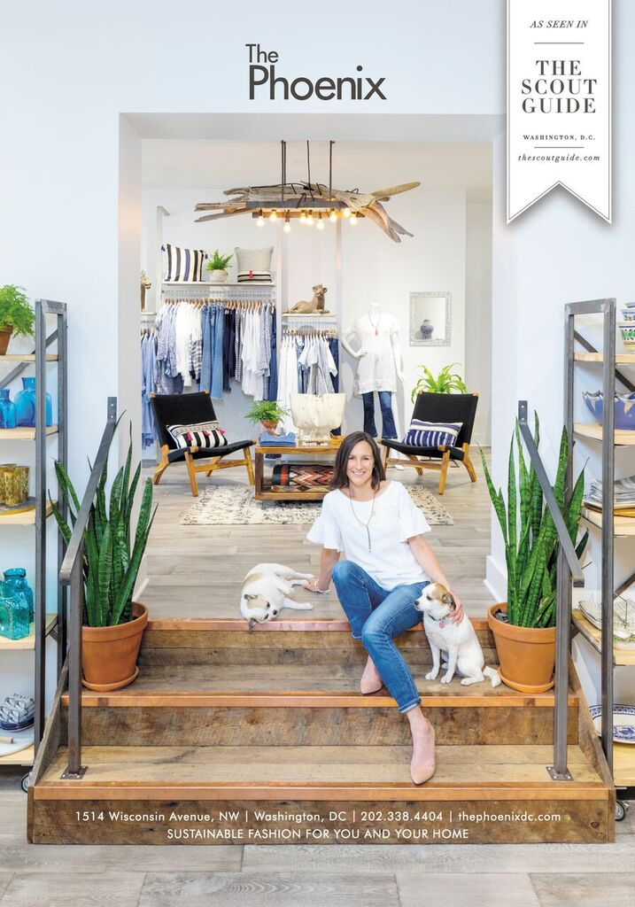 Georgetown is filled to the brim with places for eating, drinking and, of course, shopping. But there is one boutique that has truly stood the test of time and proven that small businesses can stand just as tall as big box retailers: The Phoenix. (Image: Courtesy Samantha Hays Gushner)
