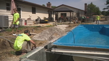 Pool contractor steps in to help Grove City family