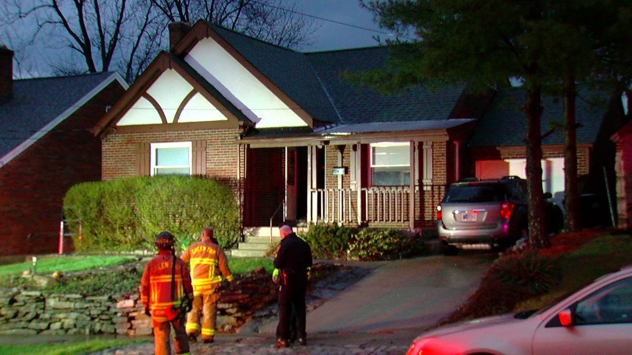 Lightning was the cause of a house fire on the West Side. (WKRC)