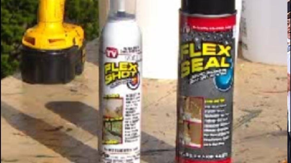 Flex Seal and Flex Shot: Do they work? | KOMO
