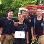 Roanoke fire crew save girl's birthday after home caught fire