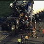 One dead in multiple 18-wheeler accident