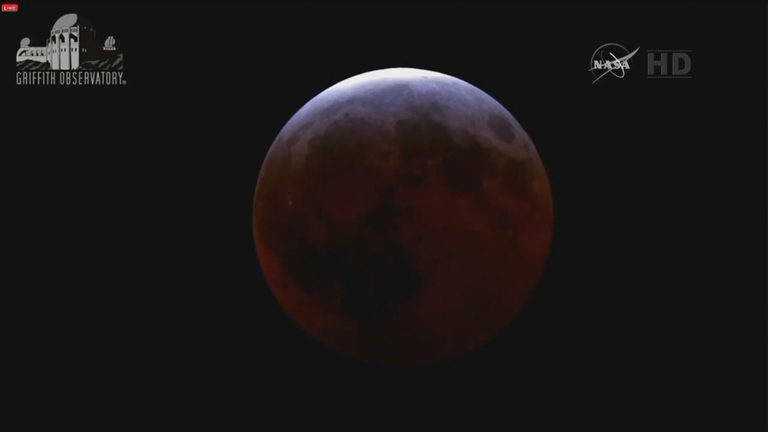 There are super moons, blue moons and blood moons. Depending on where you are on January 31, 2018, you will be treated to a rare sight-- seeing all three at the same time. (Photo credit: CNN)