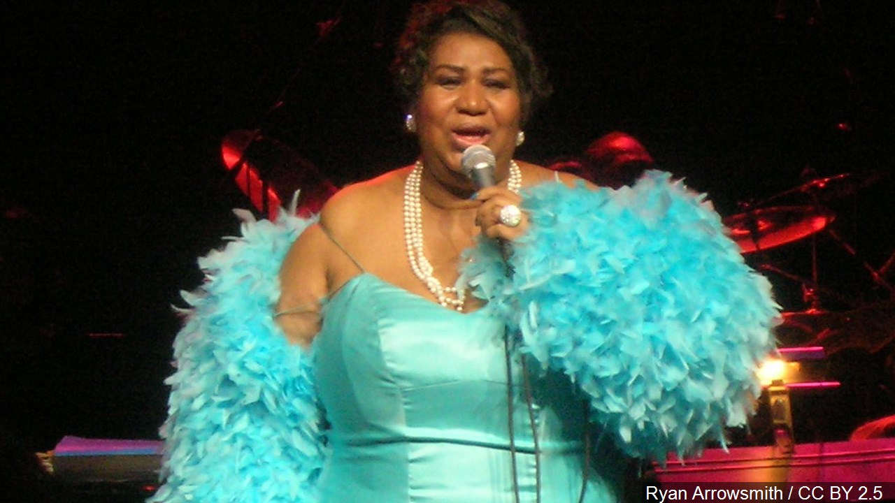 Soul singer Aretha Franklin died Thursday, Aug. 16, 2018 at her home in Detroit. She was 76. (WWMT/MGN Online)