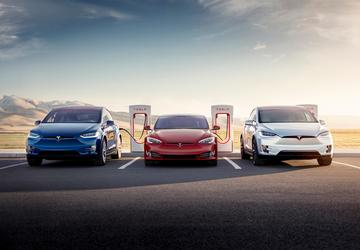 Musk announces more, faster Tesla Superchargers