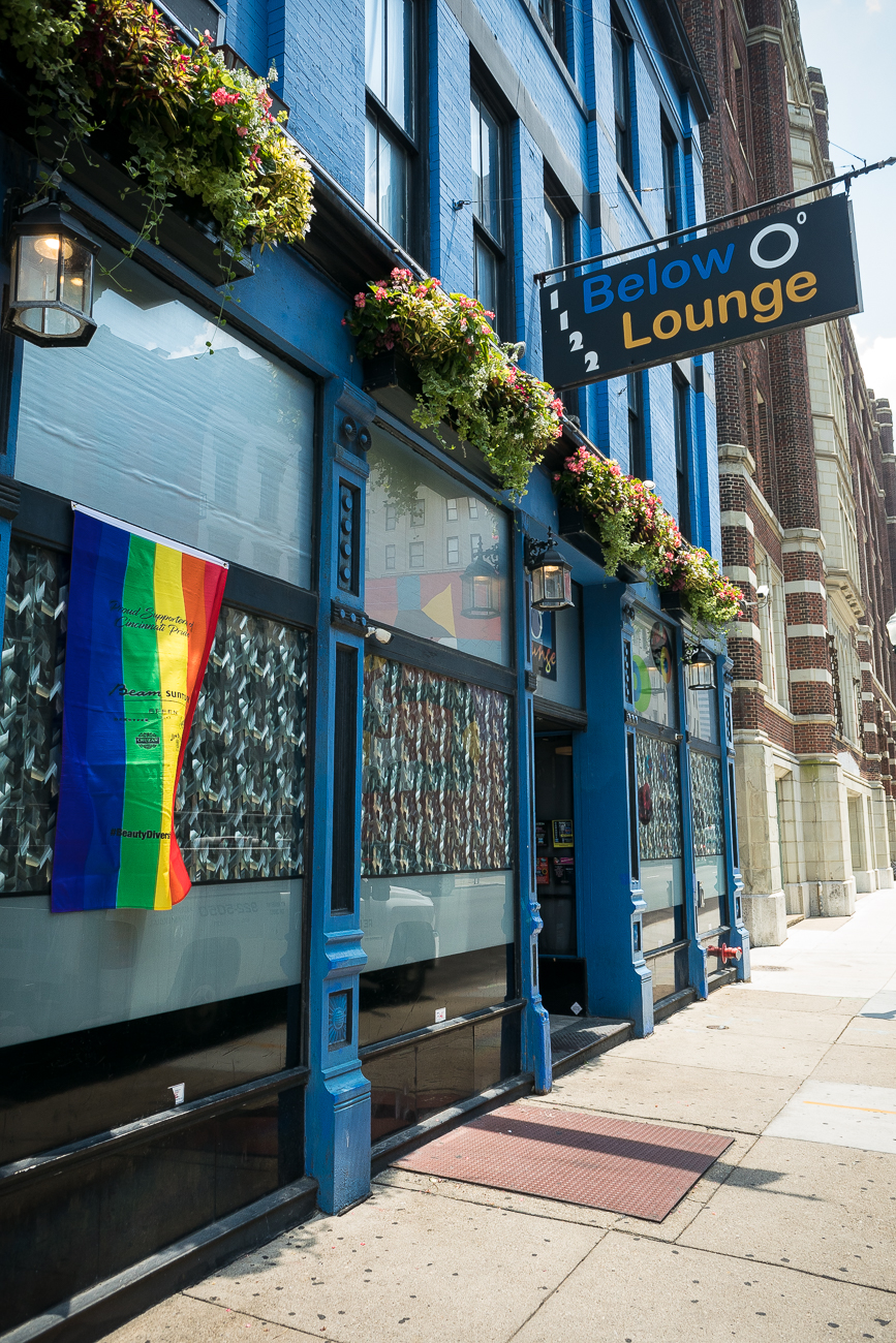 Below Zero Lounge, a bar on Walnut Street in Over-the-Rhine, offers not only vodkas dispensed at 6ºF, but weekly drag shows. The Cabaret Drag Show is every Saturday evening from 11:30 p.m. to 1 a.m. ADDRESS: 1120 Walnut Street (45202) / Image: Phil Armstrong, Cincinnati Refined // Published: 6.19.18