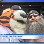 Shirtless Detroit Tigers fan goes viral