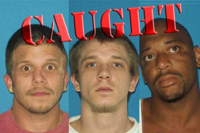 Jacob and Jason Darnell and Emanuel Chatman were arrested in Midwest City, Okla. around 2 a.m. Monday morning.