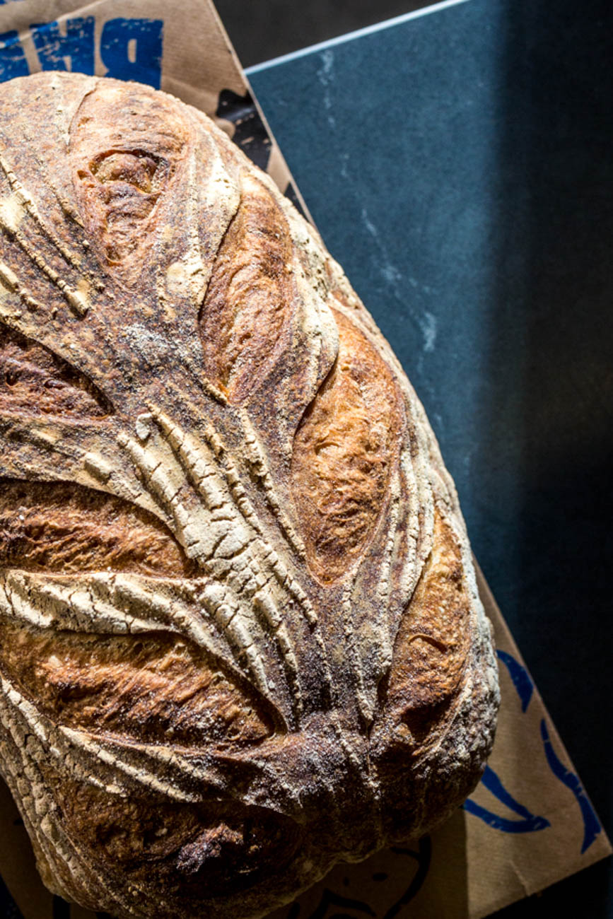 Sourdough from Blue Oven Bakery / Image: Catherine Viox // Published: 1.4.20