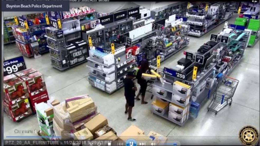 Thieves steal five laptops from Walmart in Boynton Beach | WPEC