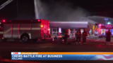 Fire destroys Holland business