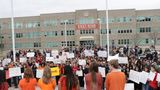 Utah students walkout  to commemorate mass school shooting and protest gun violence