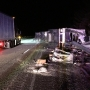 Semi hauling 40,000 pounds of shredded cheese crashes on I-5 in Oregon