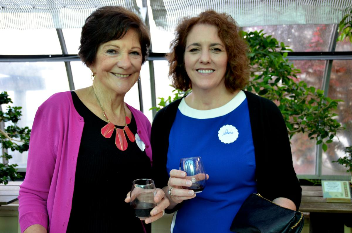 Mary and Shari Heimert (Image: Leah Zipperstein / Cincinnati Refined)