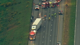 Southbound Interstate 5 reopened near Marysville after crash