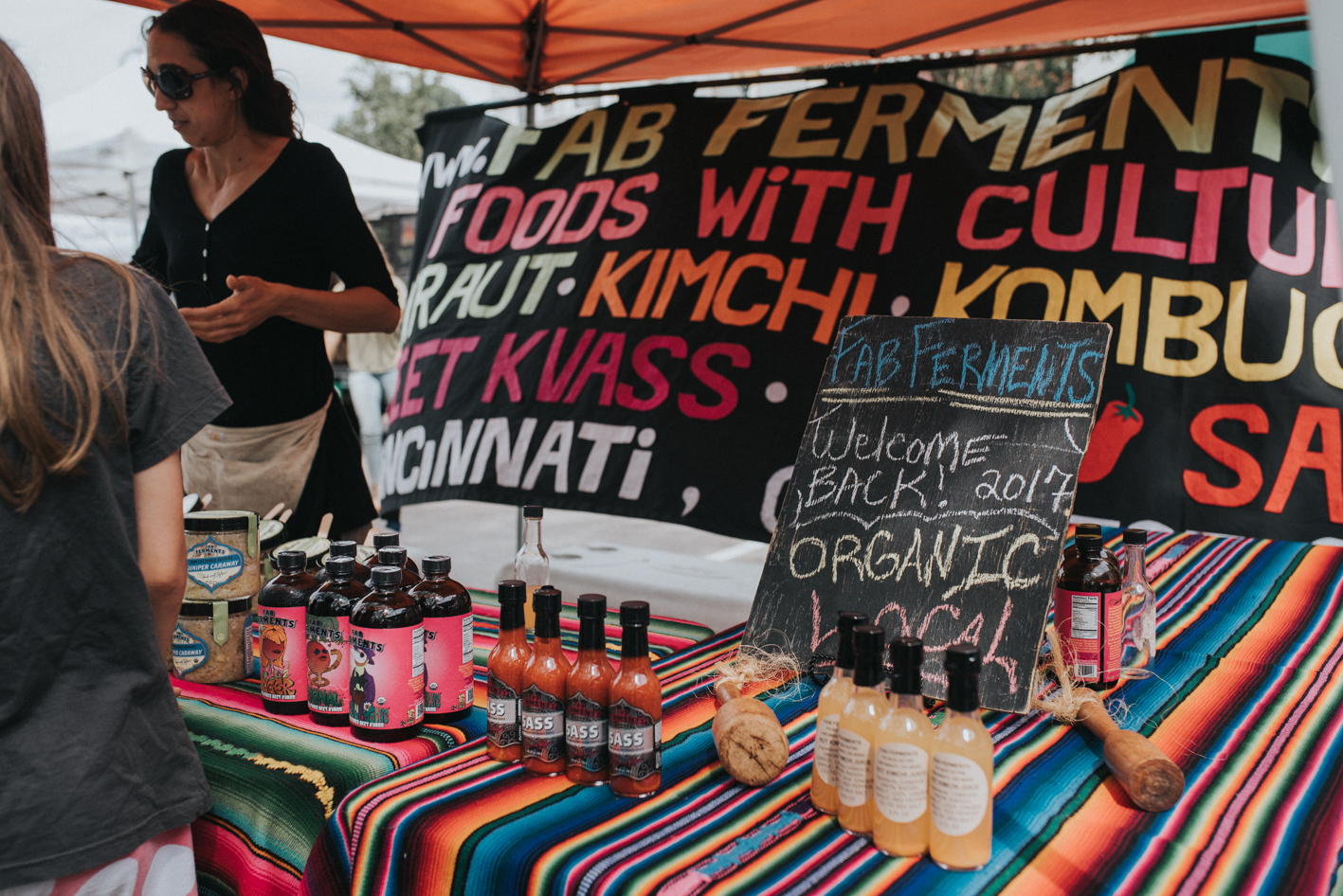 The Hyde Park Farmers' Market takes place at Hyde Park Square every Sunday from 9:30am to 1:30pm (until October 29th). There, you'll find both organic and conventionally-grown produce from small, family-run farms in the Cincinnati area. ADDRESS: 2700 Erie Ave (45208) / Image: Brianna Long // Published 6.1.17