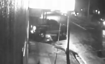 Surveillance camera image of the truck seen in the area of the homicide. (Medford Police Department)<p></p>