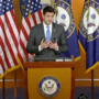 Ryan confirms he will not seek re-election during weekly presser