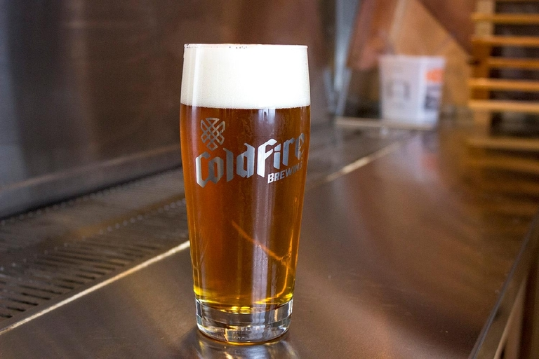 Coldfire Brewing says it�s new but not to be overlooked on your quest for a refreshing spring beer. Photo by Amanda Butt