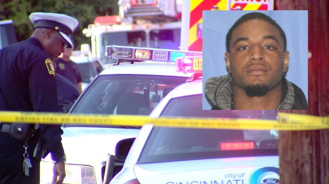 Police arrest William Blevins, Jr. for the murder of Jermaine Johnson on Rosemont Avenue (CPD/WKRC)