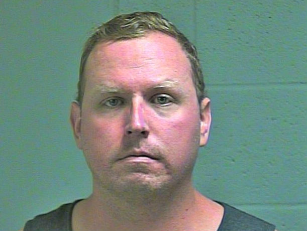 Oklahoma City Police Department Sgt. Keith Sweeney has been arrested on a complaint of second degree murder. (Oklahoma County Jail)<p></p>